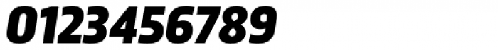 Trasandina Black Italic Font OTHER CHARS