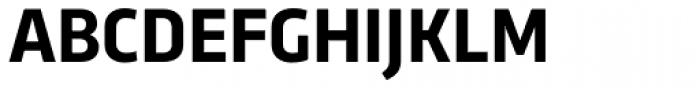 Trasandina Bold Font UPPERCASE
