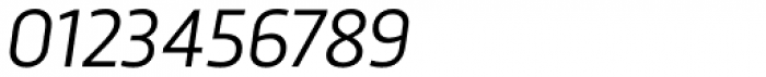 Trasandina Book Italic Font OTHER CHARS