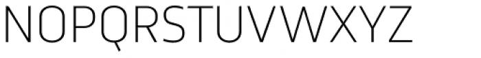 Trasandina ExtraLight Font UPPERCASE