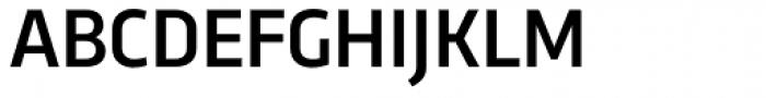 Trasandina Medium Font UPPERCASE