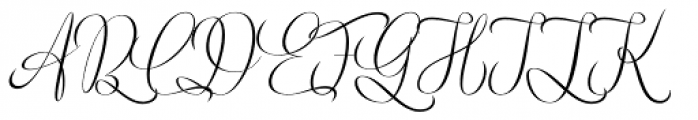 Trauville Regular Font UPPERCASE