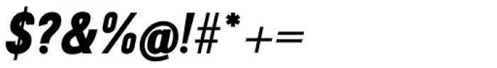 Travis ExtraBold Italic Font OTHER CHARS