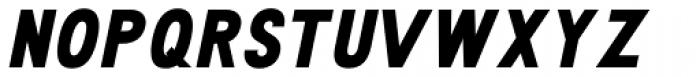 Travis ExtraBold Italic Font UPPERCASE