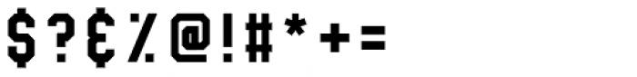 Treadstone Regular Font OTHER CHARS