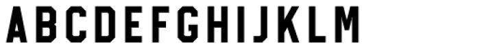 Treadstone Regular Font UPPERCASE