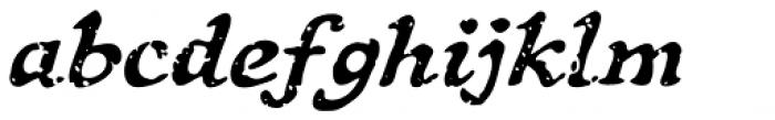 Treasure Trove Aged Italic Font LOWERCASE