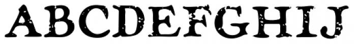 Treasure Trove Aged Font UPPERCASE