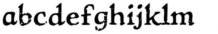 Treasure Trove Aged Font LOWERCASE