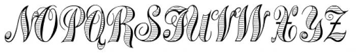 Treasury Gold Alt Font UPPERCASE