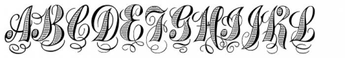 Treasury Platinum Font UPPERCASE