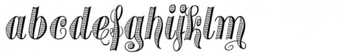 Treasury Platinum Font LOWERCASE