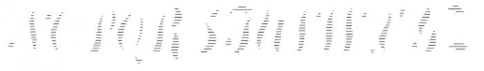 Treasury System Alt DSS Font UPPERCASE
