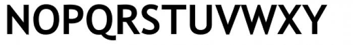 Trebuchet MS Bold Font UPPERCASE