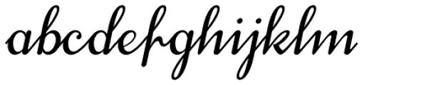 Treehouse Oblique Font LOWERCASE