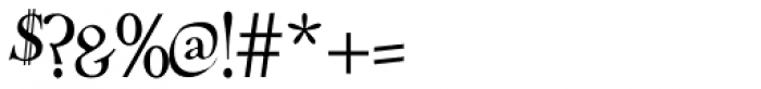 Treglonou Font OTHER CHARS