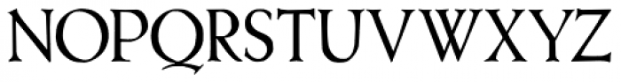 Treglonou Font UPPERCASE