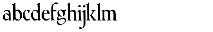 Treglonou Font LOWERCASE