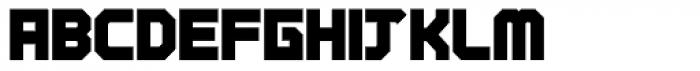 Tremble Ultra Font UPPERCASE
