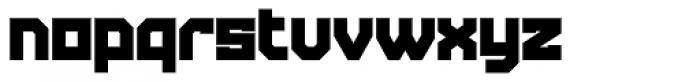 Tremble Ultra Font LOWERCASE