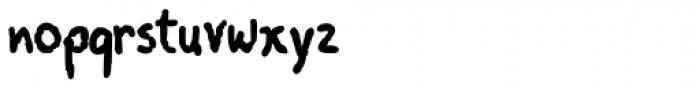 Tremida Bold Font LOWERCASE