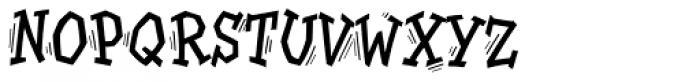 Tremor Font UPPERCASE