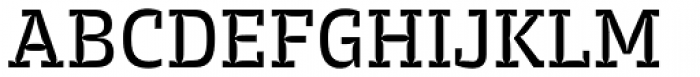 Trench Slab Regular Font UPPERCASE