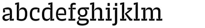 Trench Slab Regular Font LOWERCASE