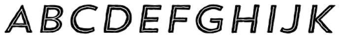 Trend HM Sans Five Italic Font UPPERCASE