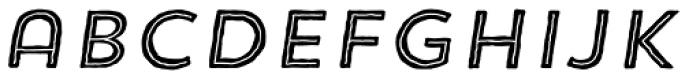 Trend HM Sans Five Italic Font LOWERCASE