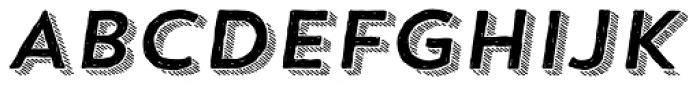 Trend HM Sans Four Italic Font UPPERCASE