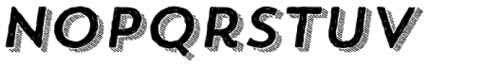 Trend HM Sans Four Italic Font LOWERCASE