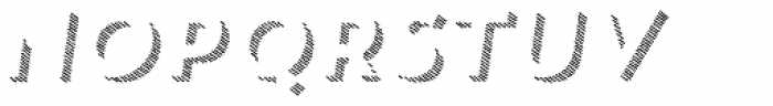 Trend HM Sans Three Italic Font UPPERCASE