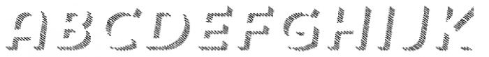 Trend HM Sans Three Italic Font LOWERCASE