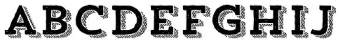 Trend HM Slab Four Font LOWERCASE