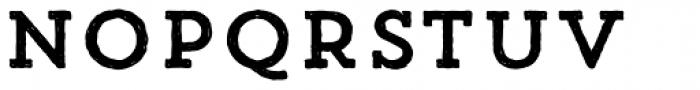 Trend HM Slab One Font UPPERCASE