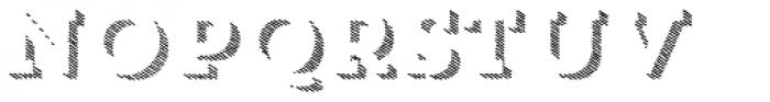 Trend HM Slab Three Font UPPERCASE