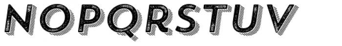 Trend Rough Sans Four Italic Font LOWERCASE