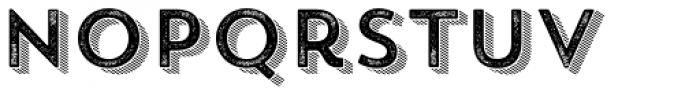 Trend Rough Sans Four Font LOWERCASE