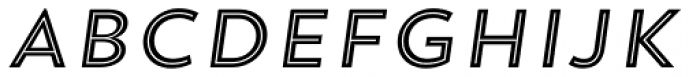 Trend Sans Five Italic Font UPPERCASE