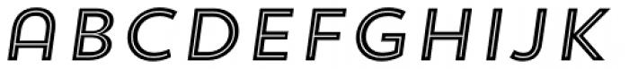 Trend Sans Five Italic Font LOWERCASE