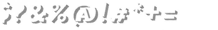 Trend Slab Three Italic Font OTHER CHARS