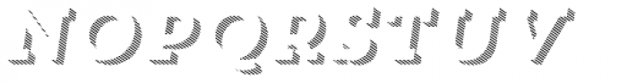 Trend Slab Three Italic Font UPPERCASE