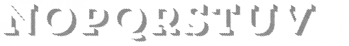 Trend Slab Three Font UPPERCASE