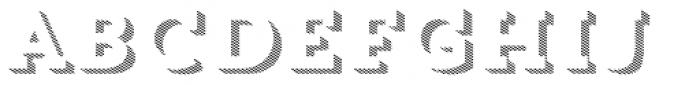 Trend Slab Three Font LOWERCASE