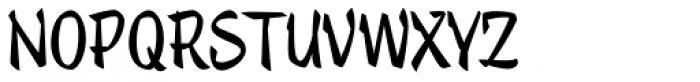 Trendy Text Black Font UPPERCASE