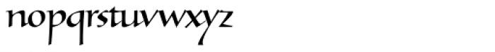 Tresillian Script Light Font LOWERCASE