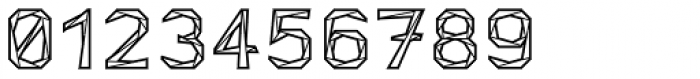 Tri-Font Outline Font OTHER CHARS