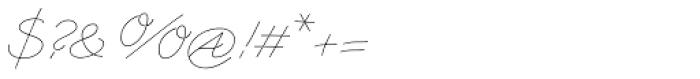 Triana-B Font OTHER CHARS