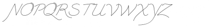 Triana-B Font UPPERCASE